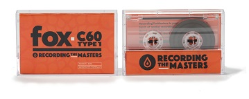 Recording The Masters Fox C60 Audio Cassette front and back of case