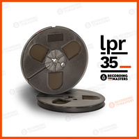 R34511 - LPR35 - 1/4in, 7in plastic reel, trident hub, hinged box, 1800ft
